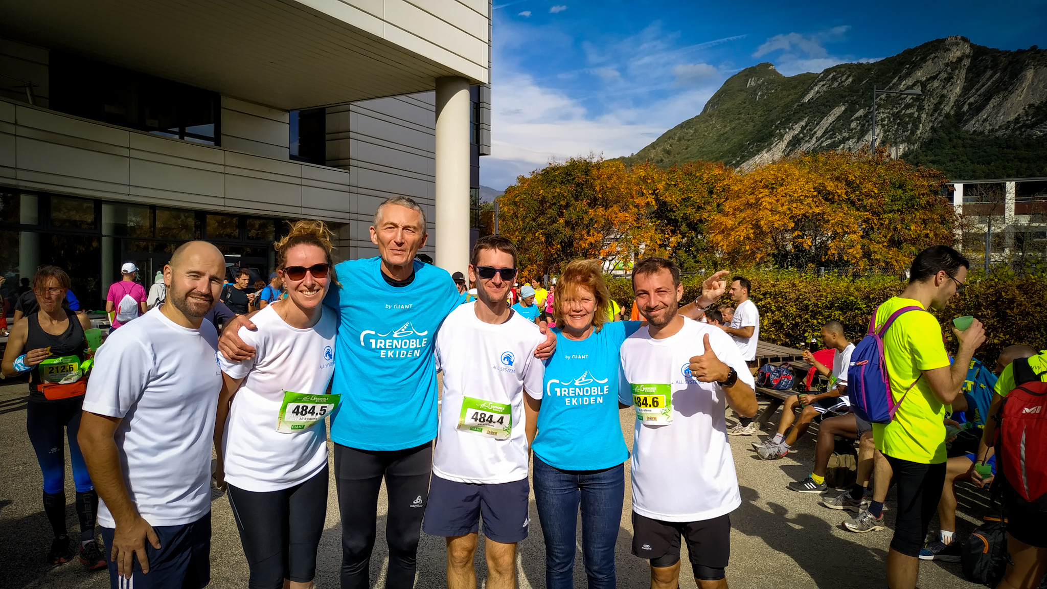 All Systems participe à l'Ekiden 2019